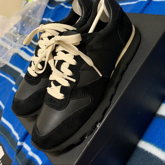"""Brand new Coach """"C118 Runner Suede leather sneaker"""